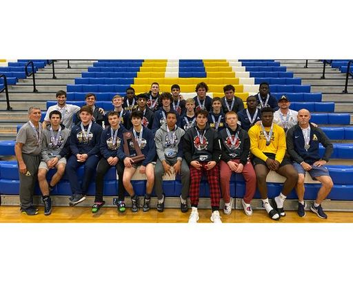 Wrestling Secures 2nd Place State Finish @ State Duals